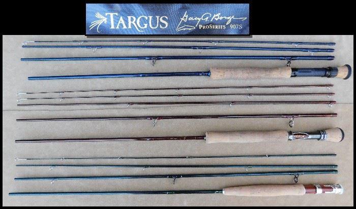 Targus Fly fishing rods.