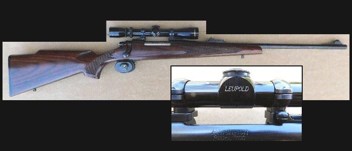 Remington 30-06 with Leupold Verilux II scope.