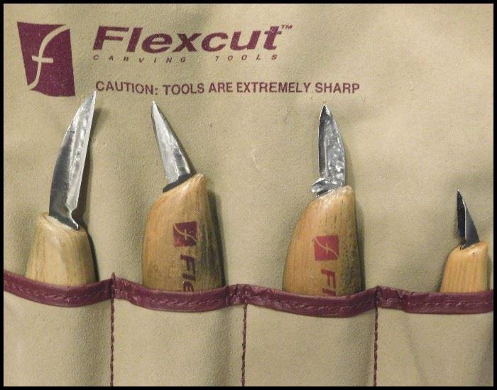 Flexcut whittling knives.