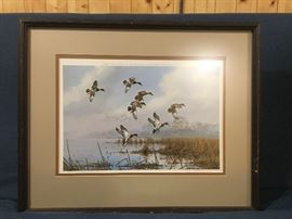 Mallards               David Mass                                                   Signed and numbered 86/250
