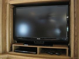 Sharp Flat Screen TV.