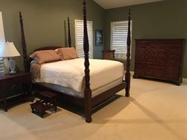Ethan Allen Queen Bed