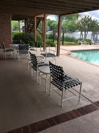 Patio Furniture available on 2 levels!