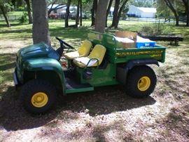 One of the John Deere Gator(s) 4x2