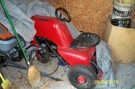 Vintage Hiller Yard Tractor