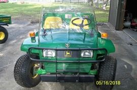 ***SOLD***1998 John Deere Gator 6x4, front view