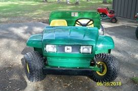 ***SOLD***1994 John Deere Gator 4x2, front view***SOLD***