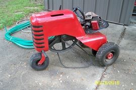 Better picture of 1953 Hiller Yard Hand Tractor