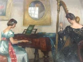 Detail Marguerite Pearson Oil