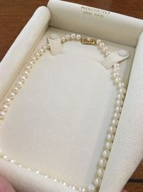 Mikimoto Pearls with 14K Clasp