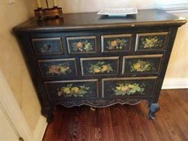 "Lloyds of Somerville - Painted Credenza - 44""W X 19""D X 38""H - 9 Drawers"