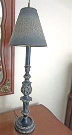 Boudoir lamp detail