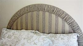 Custom made tufted king headboard