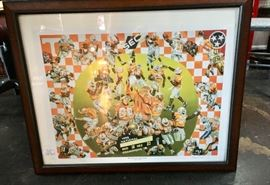 TN Vols Framed Picture