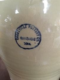 "RARE, ""Cookeville Pottery Co,"" (in business from 1939-1960) crock"