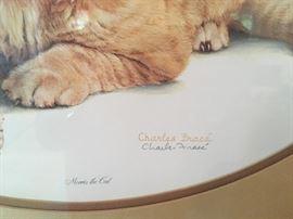 Charles Frace' signed & framed print