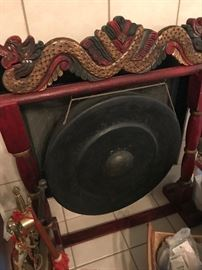 Antique Asian Gong