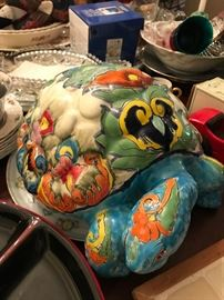 Mexico Pottery Turtle