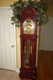 JC Penny grandmother clock 7 day wind/chime