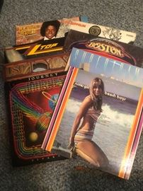 LOTS of LP Albums from the 60's-80's, some with GREAT cover art!