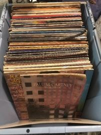 LP's from the 60's through 80's