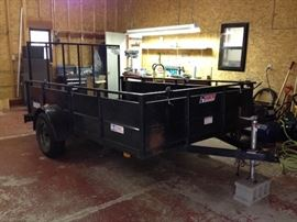 6.5 x 10 heavy duty utility trailer.  Worksport by Pace American