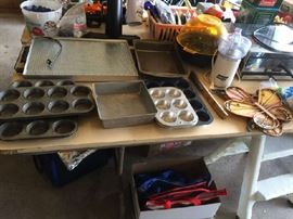 Cooking pans and equipment