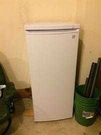 Freezer, upright, small