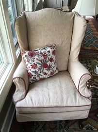 Wing back chairs ...have a pair