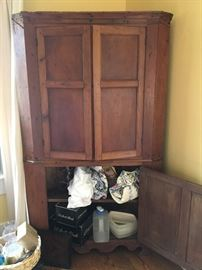 Vintage corner armoire...just gorgeous