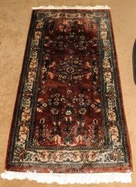 ORIENTAL SIGNED CARPET