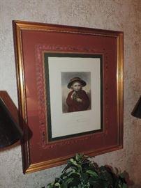One of MANY framed prints