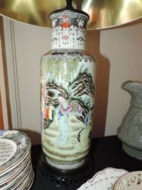 Detail of Chinese Lamp