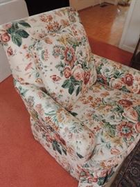 Detail of Upholstered Chair