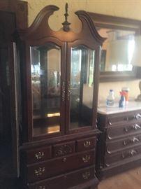 Pennsylvania House display cabinet