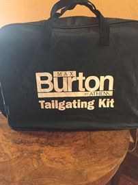Brand new tailgate or beach lap gas stove and fry pan - NEW