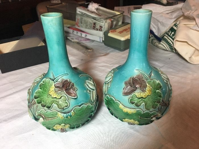 Wang Bing Rong vases 1850's to 1900