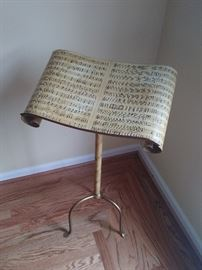 hand painted music stand