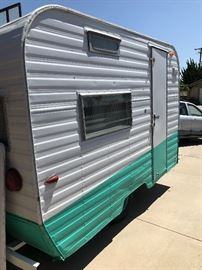 1963 Santa Fe Travel Trailer