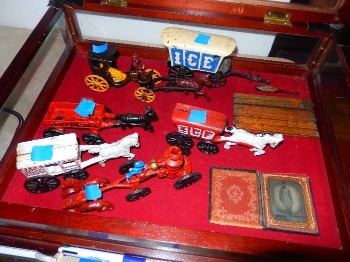 Authentic Cast iron toys