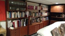 MCM bookshelves