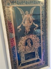 Gone But Not Forgotten Victorian framed piece