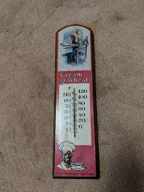 Vintage Advertisement thermometer