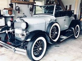 Shay Ford Model A Roadster Reproduction