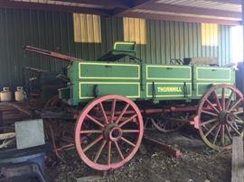 Thornhill buckboard fully restored