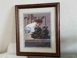 Kevin T. Daniel, Puppy Love II, Limited Edition Print