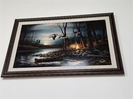 """Terry Redlin Canvas Print""""Evening Glow"""" Legacy Edition"""