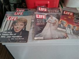 1971 Life Magazines
