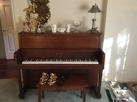 Kauai upright piano.