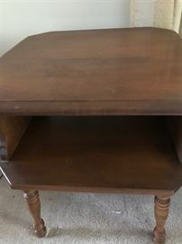 Heywood-Wakefield Open shelf side table
